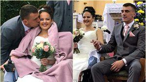 สาวป่วยมะเร็งระยะสุดท้าย เหลือเวลาชีวิต 18 เดือน แต่งงานกับคนรัก สานฝันสุดท้าย!