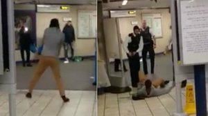 ระทึก!ชายใช้มีดไล่แทงคนในรถไฟใต้ดิน ตร.คาด ก่อการร้าย