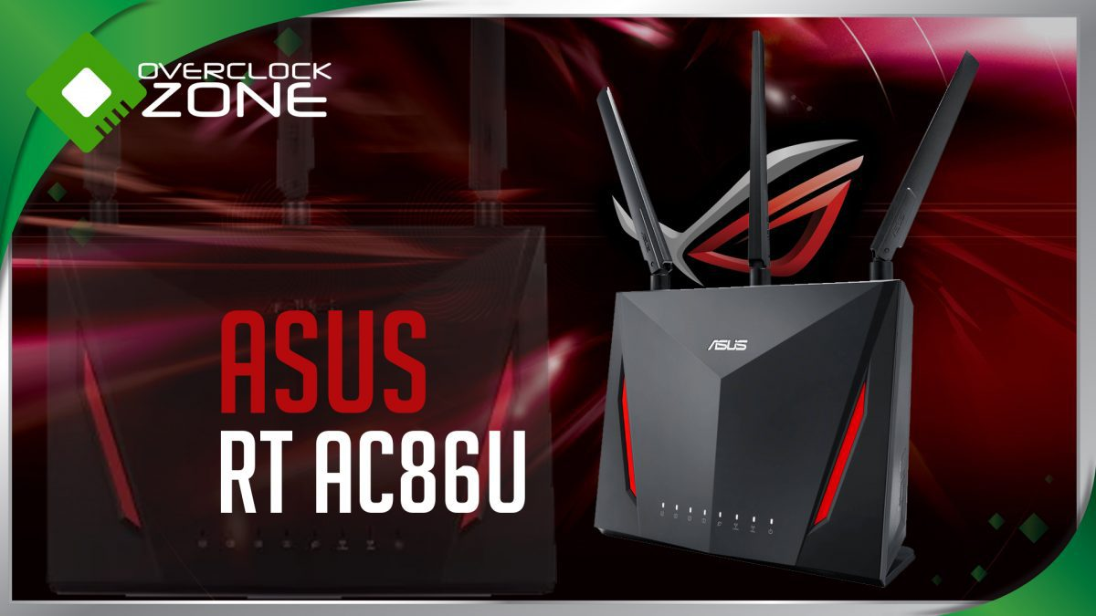 รีวิว ASUS RT-AC86U : AC2900 Gaming Router