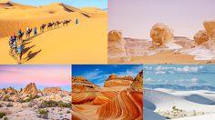 8 อันดับ ทะเลทราย ที่สวยงามจนน่าทึ่ง ไม่น่าเชื่อว่านี่คือผืนดินอันแห้งแล้ง
