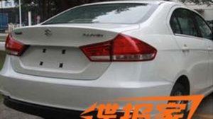 ภาพหลุด Suzuki Alivio (Ciaz) ในประเทศจีน