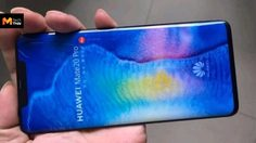 เผยภาพ Huawei Mate 20 Pro เครื่องดัมมี่ ยืนยันดีไซน์มาพร้อมจอโค้งขอบบาง
