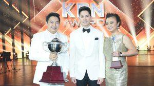 """""""ครูกานต์"""" นักร้องยอดเยี่ยมแห่งประเทศไทย ประจำปี 2559 """"เคพีเอ็น อวอร์ด ครั้งที่ 25"""""""