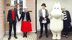 น่ารักแค่ไหนมาดู! คู่รักแต่งงานมา 37 ปี ใส่เสื้อผ้าคู่กันตลอดเลยอะ