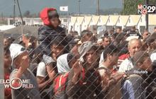 วิกฤตผู้อพยพซีเรียสั่นคลอนความแข็งแกร่ง EU