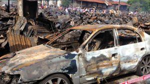 แห่บริจาค ช่วยคนงานบริษัทอิตาเลียนไทยฯ หลังแคมป์ถูกไฟไหม้