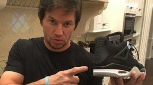 พาส่อง Collection รองเท้าของดาราฮอลลีวู้ด Mark Wahlberg มูลค่ามากกว่า 3.5 ล้านบาท