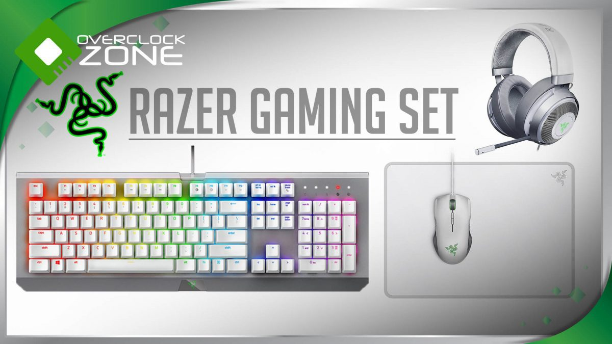 รีวิว RAZER Gaming Gear ครบเซ็ต โทนสีขาวสไตล์ Mercury Edition