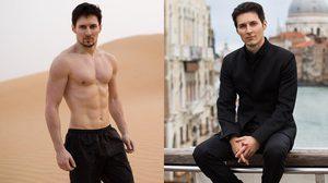 หล่อรวยโปรไฟล์ดีมาก Pavel Durov ผู้ก่อตั้งแอป Telegram