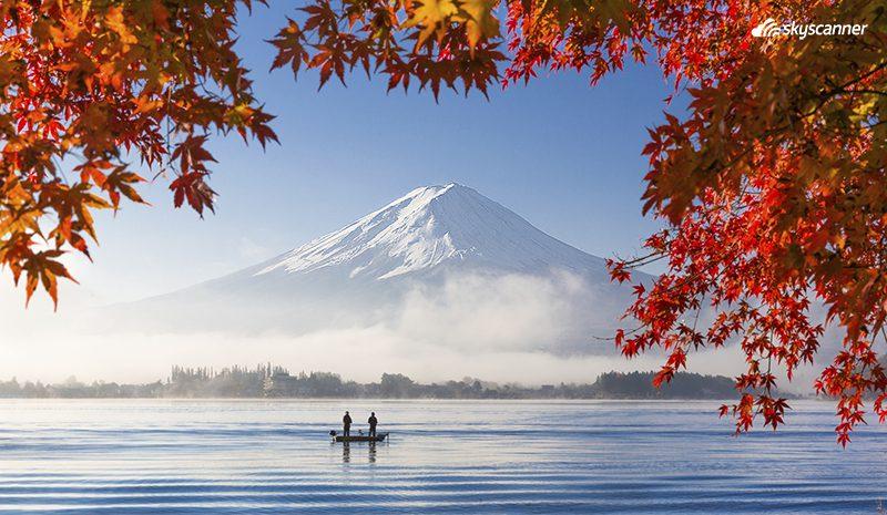 ทะเลสาบคาวากูจิโกะ (kawaguchiko)
