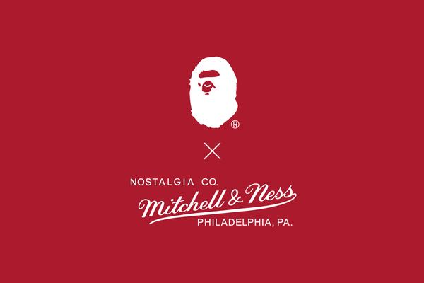 BAPE x Mitchell & Ness
