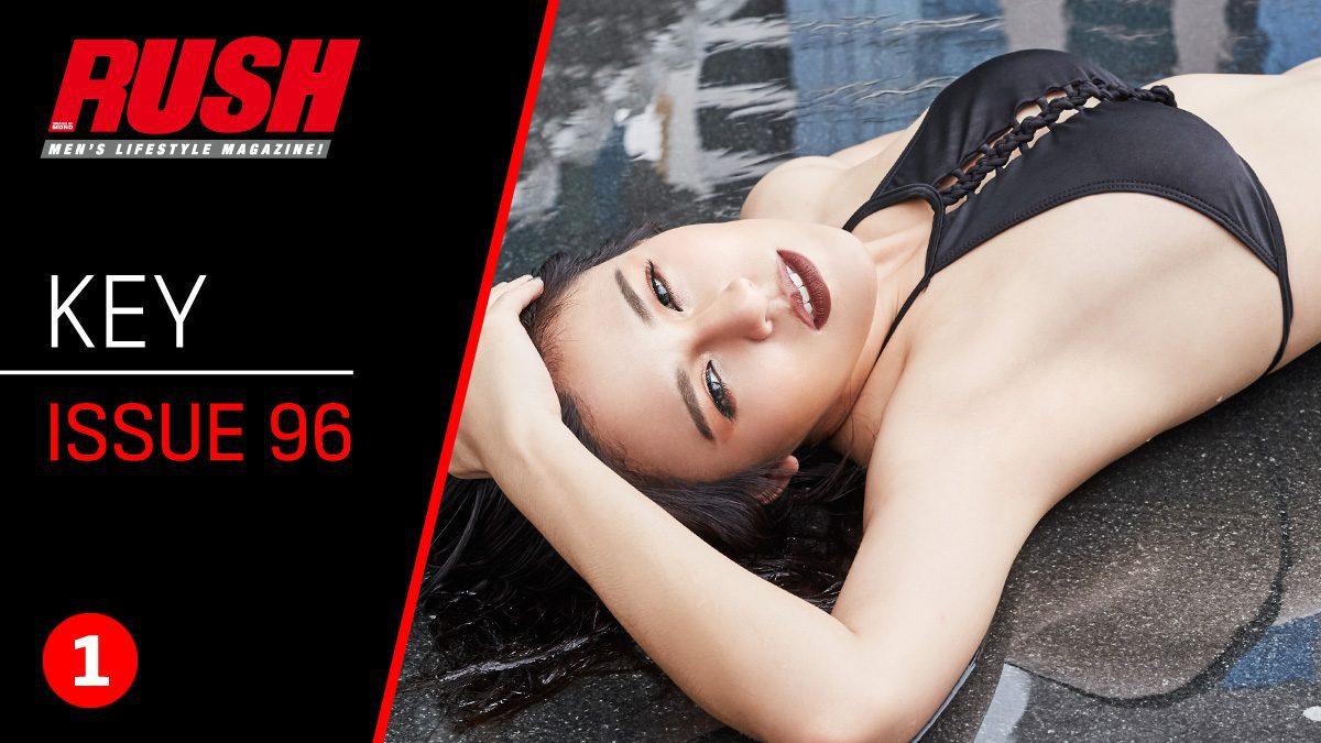 กี้ กิตติ์ชญาห์ จากสาวหล่อสู่สาวสวย กับการถ่ายแบบเซ็กซี่ครั้งแรกใน RUSH Issue 96