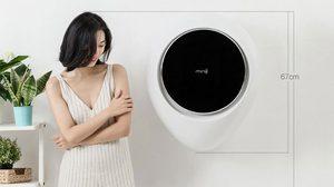 Xiaomi เปิดตัว เครื่องซักผ้า MiniJ แบบแขวนผนัง ขนาด 3 กิโลกรัมทรงหยดน้ำ