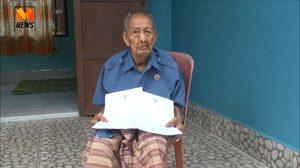 พ่อเฒ่าวัย106 ปีโร่แจ้งความ ถูกหลานขู่เอาชีวิต หลังร้องศาลสั่งยึดที่ดินคืน
