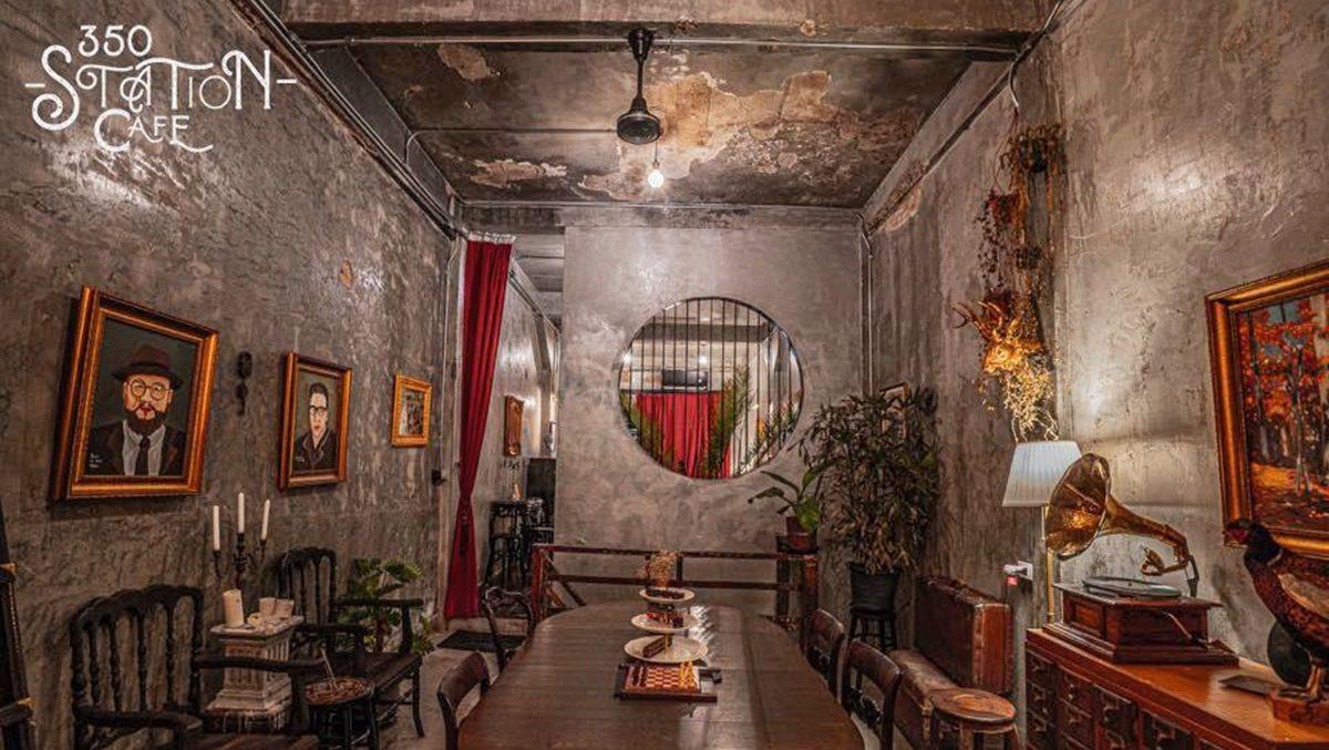 350 Station Cafe คาเฟ่สไตล์ชีโนโปรตุกีส สัมผัสช่วงเวลาในอดีตยุค 1940