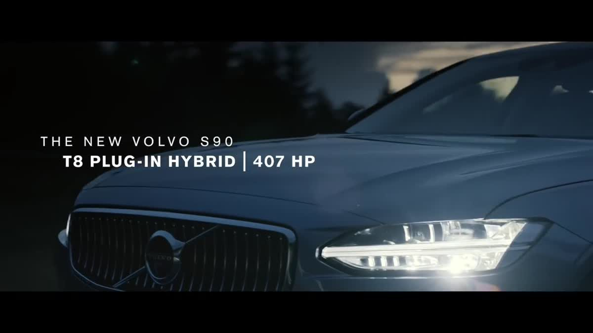 Volvo Lightning-Powered Billboard