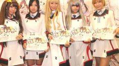 สาวๆ IS: Infinite Stratos Girls ทำการโปรโมทย่าน Akihabara