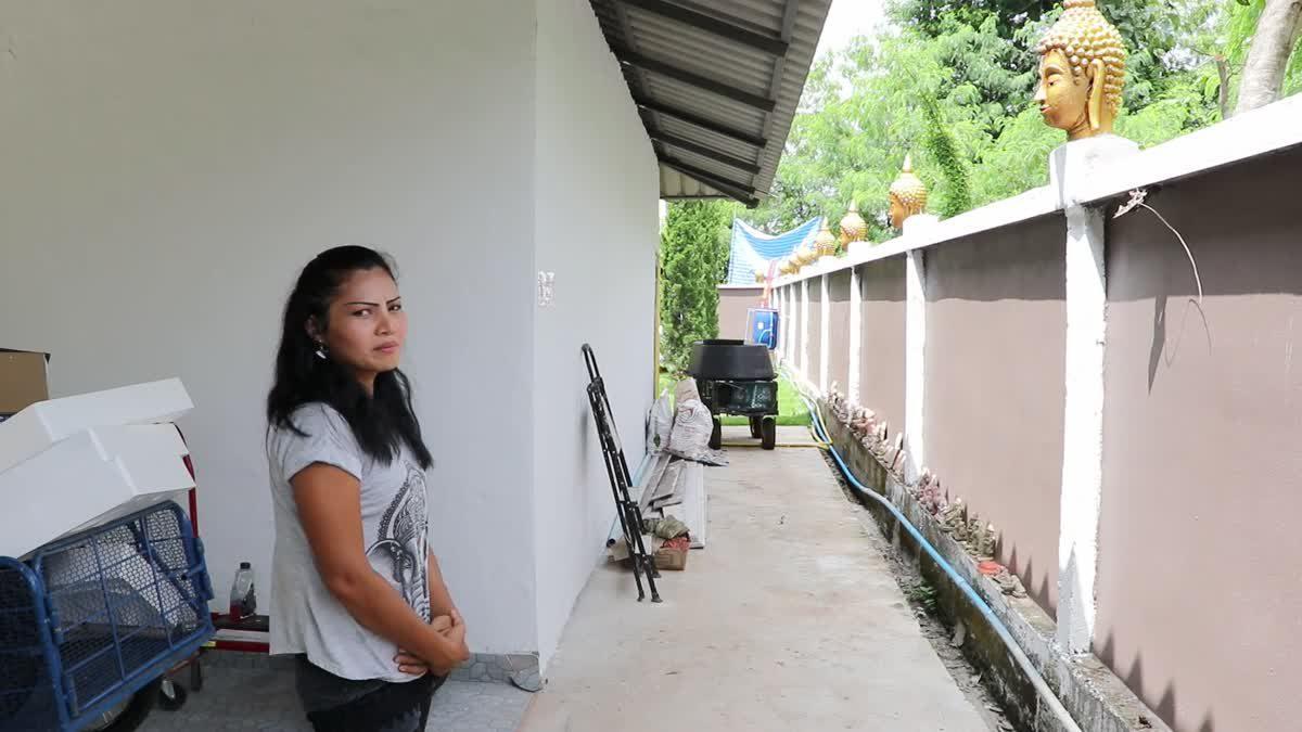 จวกยับ ! เหมาเศียรพระพุทธรูปตกแต่งเป็นรั้วบ้าน ชาวพุทธชี้หมิ่นศาสนา