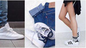 20 แฟชั่นรองเท้าผ้าใบ Adidas สำหรับผู้หญิง สวย เท่ สุดชิค!!