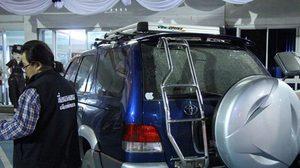 หนุ่มเมืองเบียร์ไม่ยอมจ่ายค่าลานจอดรถ เจอมาเฟียคว้าหินทุบกระจกแตก