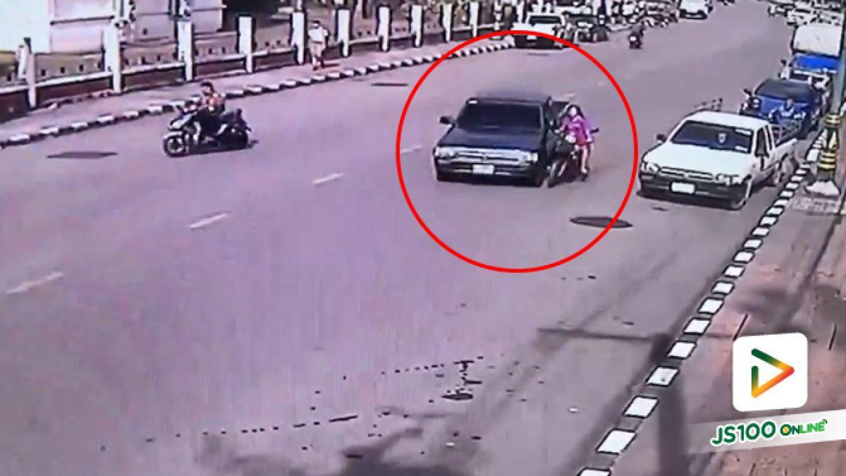 อุบัติเหตุบนถนนเกิดได้ทุกเวลา ถ้าป้องกันได้ก็ต้องป้องกันตัวเองด้วยนะคะ (12/09/2019)