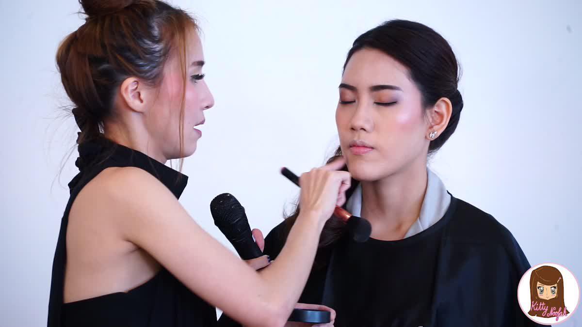 HOW TO : ลงแป้งเบาๆให้หน้าฉ่ำวาวแบบเกาหลี แต่ไม่มัน