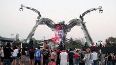 Gravity Thailand 2016 แมงมุมยักษ์ ยึดกรุงเทพฯ แดนซ์ลืมร้อน!