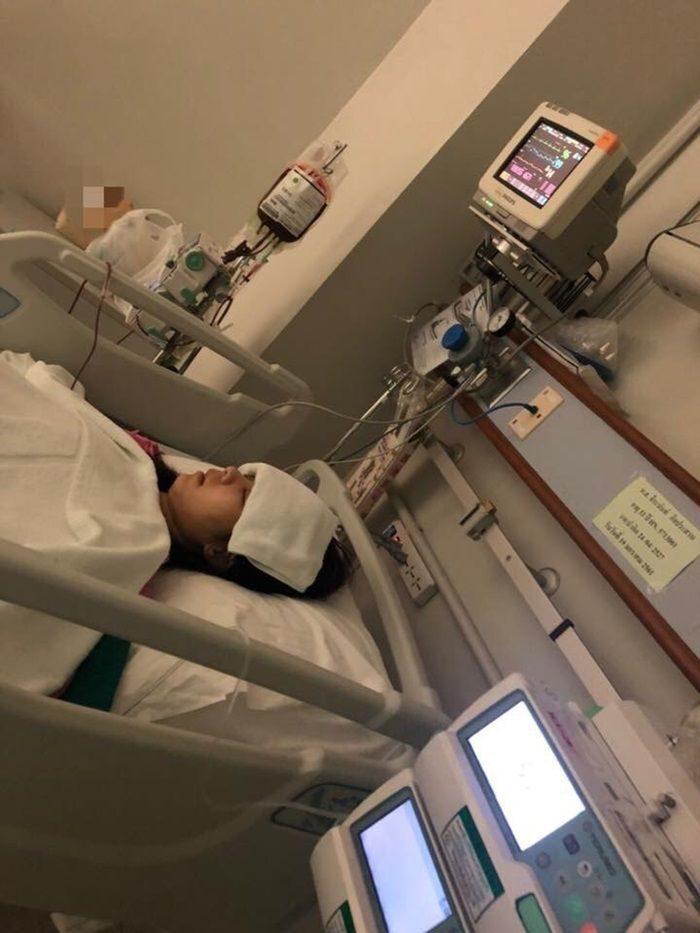 เมย์ จีระนันท์ ติดเชื้อจากการศัลยกรรม