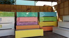 Free Hundred Pastel Coffins Offered in Phetchaburi
