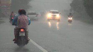 อุตุฯ ชี้ทั่วไทยมีฝนฟ้าคะนองอย่างต่อเนื่อง-กทม.ตกร้อยละ 60 ของพื้นที่