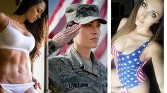 Charissa Littlejohn ทหารอากาศสาวจากกองทัพสหรัฐฯ ในมุมนางแบบสุดเซ็กซี่