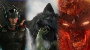 หมาป่าก็มา!! Hulk รับมือกับศัตรูหน้าใหม่ในคลิปล่าสุด Thor: Ragnarok