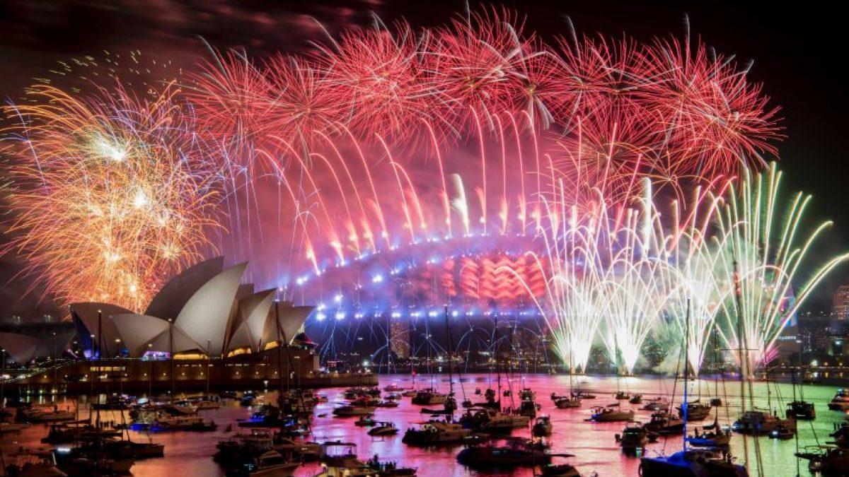 นครซิดนีย์ Countdown 2021 ปีใหม่จุดพลุไฟสวยตระการตา