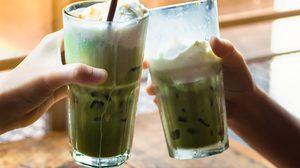 วิธีทำ green tea latte ชาเขียวนมสด สูตรเข้มข้น