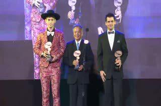 [HD] ภีม ภาคิณ - รอง เค้ามูลคดี - แดเนียล เฟรเซอร์ ได้รับรางวัล MThai Top Talk Guy 2014