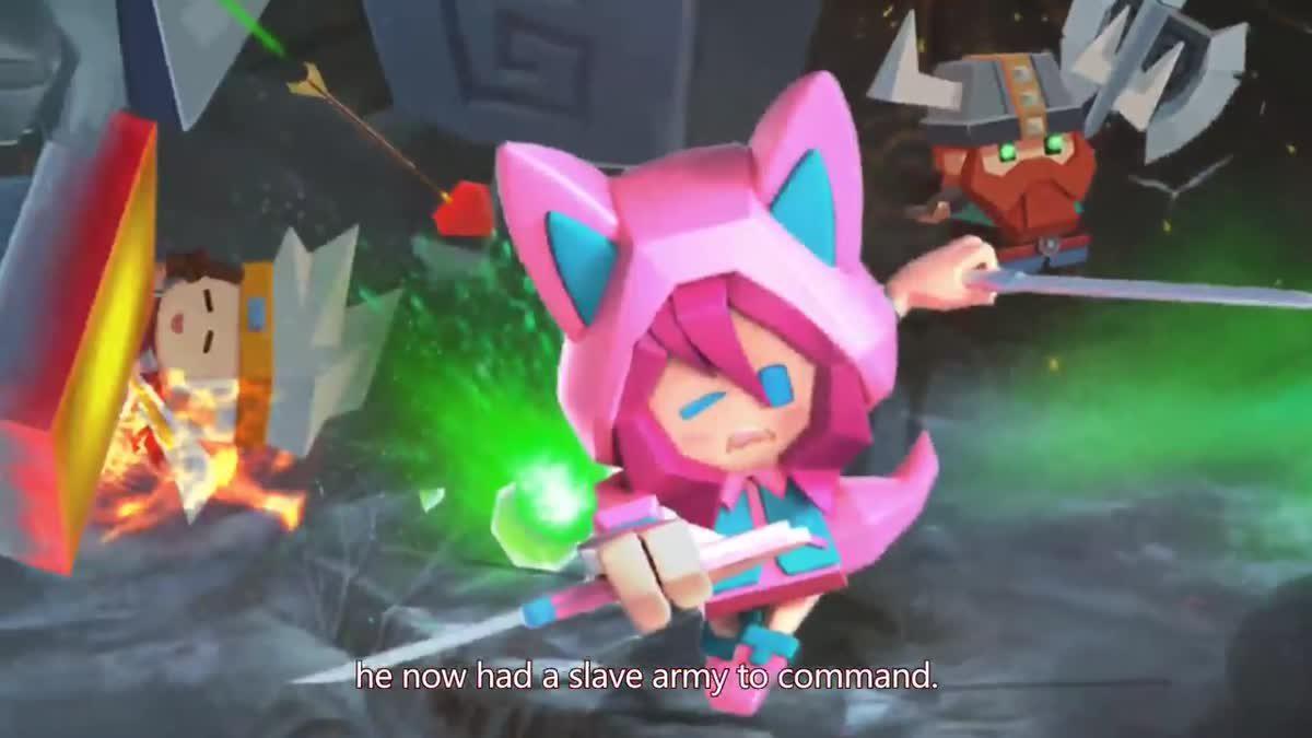 [ตัวอย่างเกม] TinyBattleground เกมแนว MOBA+Survival ที่น่าสนใจเปิดให้ดาวน์โหลดแล้ว
