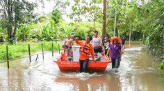 ปภ.รายงานยังมีอุทกภัยใน 8 จังหวัด เร่งระบายน้ำ ช่วยเหลือผู้ประสบภัย