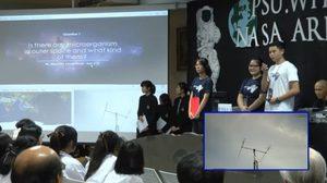 18 คำถามจากเด็กไทยสื่อสารวิทยุสมัครเล่นถึงนักบินอวกาศ สำเร็จ!