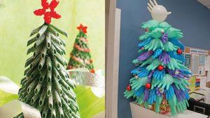 เนรมิต 12 ต้นคริสต์มาสให้แปลกแหวกแนวไม่เหมือนใคร