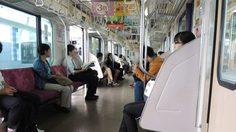 ชาวเน็ตซัดสาวโพสต์ฉะคนไทยมารยาทแย่ ขวางทางออกรถไฟญี่ปุ่น