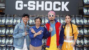 ยัวร์บอยทีเจ ออกแบบนาฬิกา G-Shock X UrboyTJ Limited Edition พร้อมเปิดคอนเสิร์ตสุดมันส์