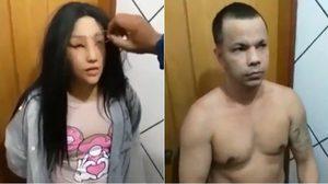 'พ่อค้ายาบราซิล' ปลอมตัวเป็นหญิงหวังแหกคุก