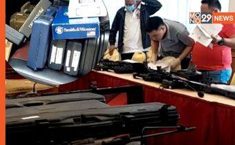 จับผู้ช่วยผู้ใหญ่บ้าน ลอบขายปืนข้ามชาติ