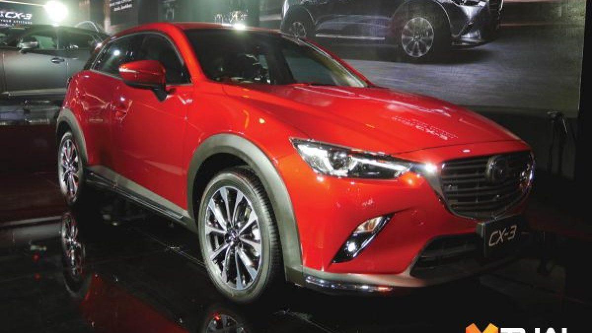 Mazda New Mazda CX-3 Collection เคาะราคาเริ่มต้น 8.79แสนบาท