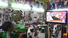 เอาใจคอบอล!! ร้านตัดผมคนบ้าบอล แห่งเดียวในประเทศไทย