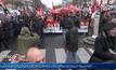 ชาวฝรั่งเศสหยุดงานประท้วงการปฏิรูปกฎหมายแรงงาน
