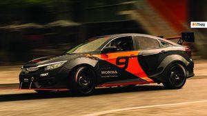 ชม Honda Civic จัดหนักยัดเครื่อง Hybrid 600 แรงม้า ผลผลิตจากนักศึกษา