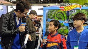 ภคิน ซุปตาร์จิ๋ว นำทีมเพื่อน ชมรถเหล็ก Hot Wheels Motor Expo 2019