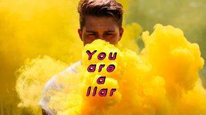 คำศัพท์ภาษาอังกฤษ หมวด โกหก หลอกลวง ใส่ร้ายป้ายสี