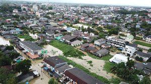 สถานการณ์น้ำท่วมภาคใต้ หลายพื้นที่คลี่คลายแล้ว